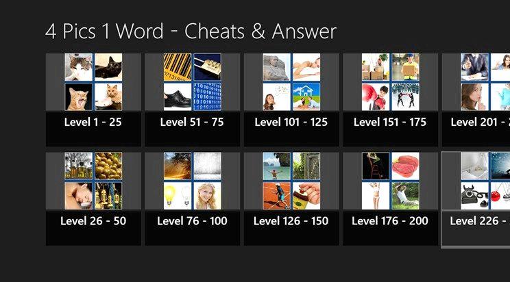 4 pics 1 ord hva ordet app svar