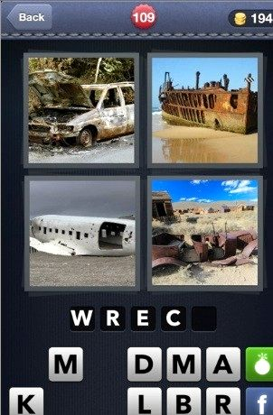 4 pics 1 word whats the word android answers