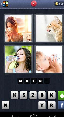 4 foto 1 parola che cosa è la parola Android