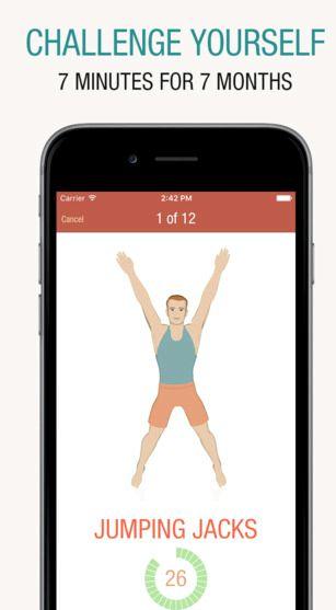 Birçok yakılan kalori nasıl 7 dakika egzersiz uygulaması