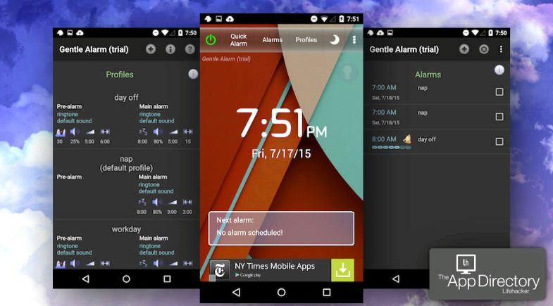 app d'alarme pour Android qui fonctionne lorsque le téléphone est éteint
