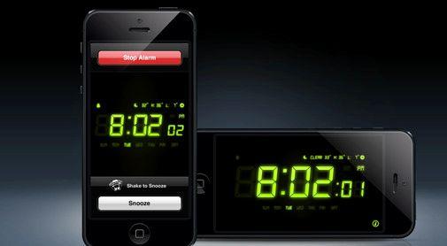 Alarm app som fungerer når telefonen er slått av iphone