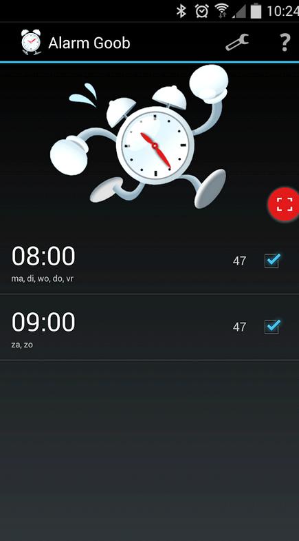 alarme Android lorsqu'il est éteint