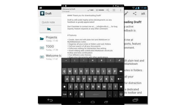 Android forrit þar sem þú getur skrifað á myndum