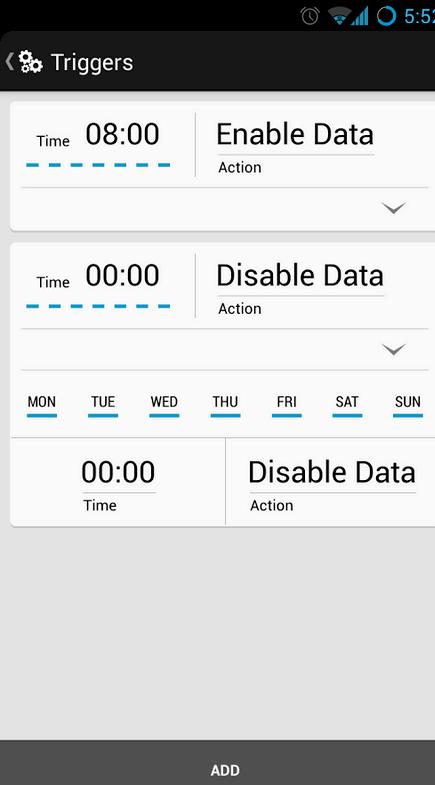 Android mahdollistaa WiFi kun kotona