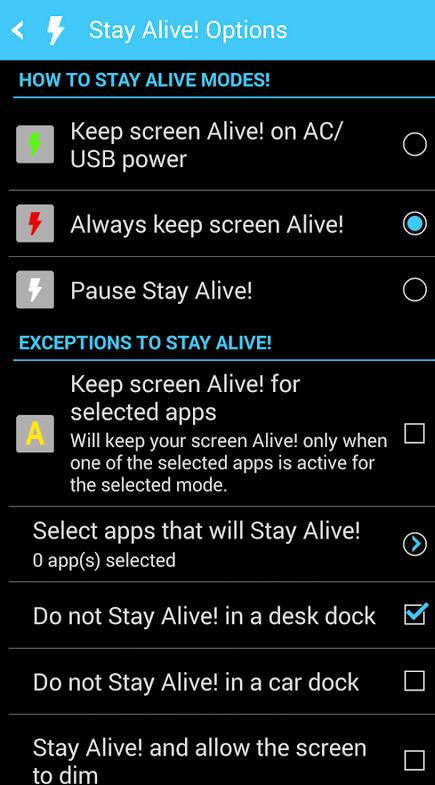 Android halten Bildschirm auf, wenn eingesteckt