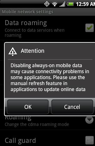 Android ylikuumenee ladattaessa