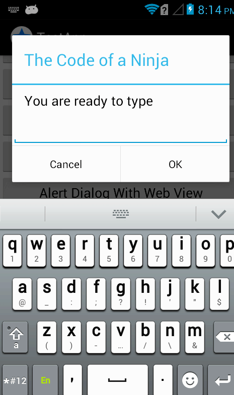 Hide Soft Keyboard Android