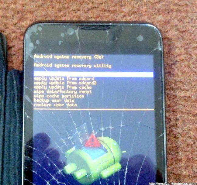 écran tactile Android ne fonctionne pas lors de la recharge