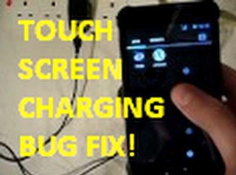 Android Touch-Screen-Problem beim Aufladen