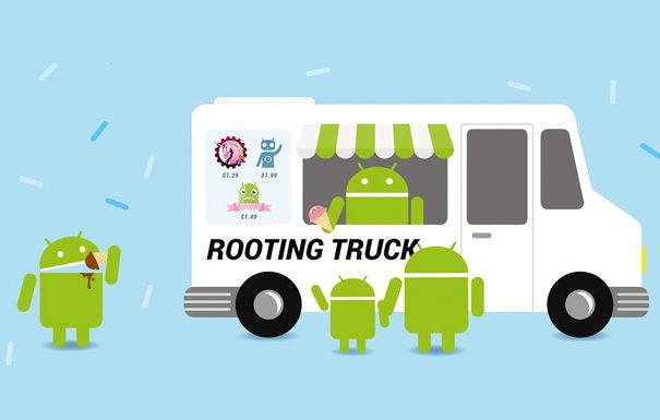 Android hva rooting gjøre