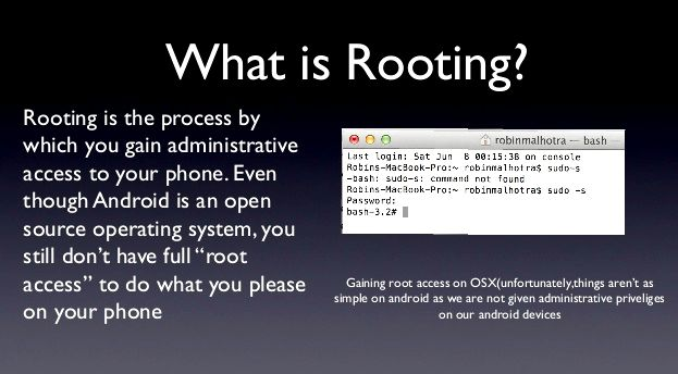 Android what is root