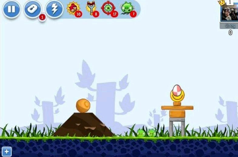 Arga fåglar android hur många guldägg