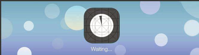 App jäätyi asennettaessa iphone
