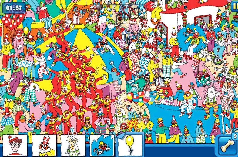 App pelejä kuten missä Waldo