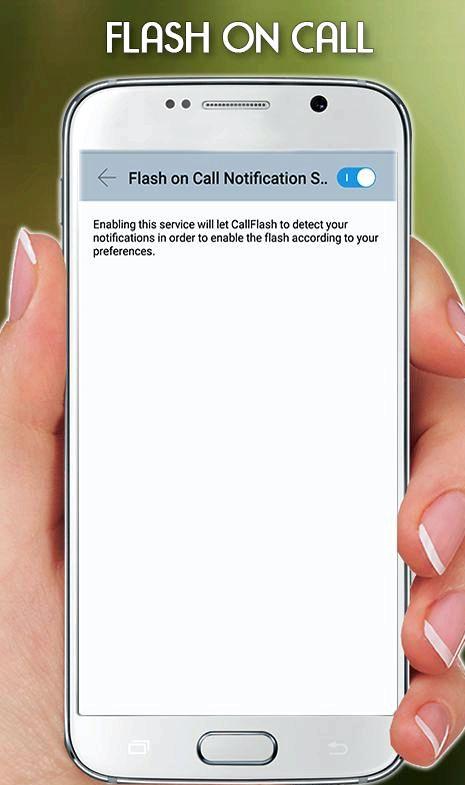 App zum Telefon zum Leuchten bringen, wenn es klingelt