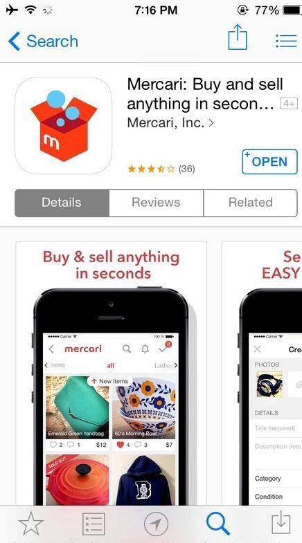 App hvor du kan kjøpe og selge klær