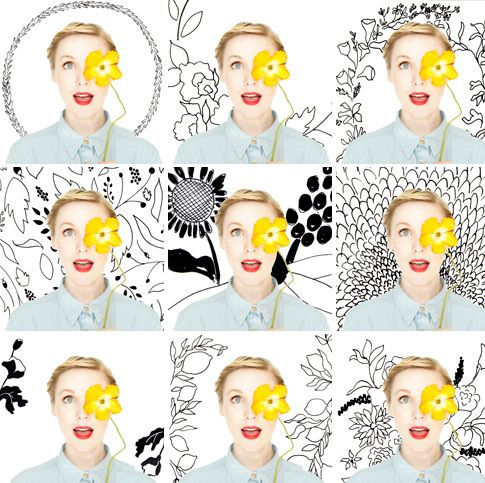 App où vous pouvez mettre des fleurs sur les photos