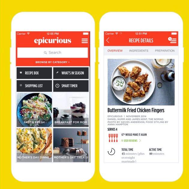 App der du skriver inn ingredienser