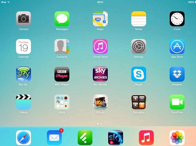Apple iOS 7 när kan jag ladda ner