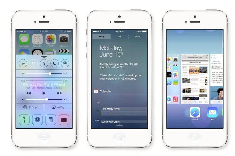 Apple iOS 7 när det blir tillgängligt