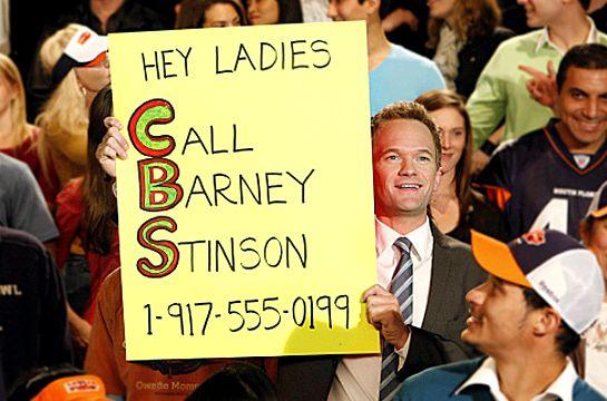 Barney telefone How I Met Your Mother