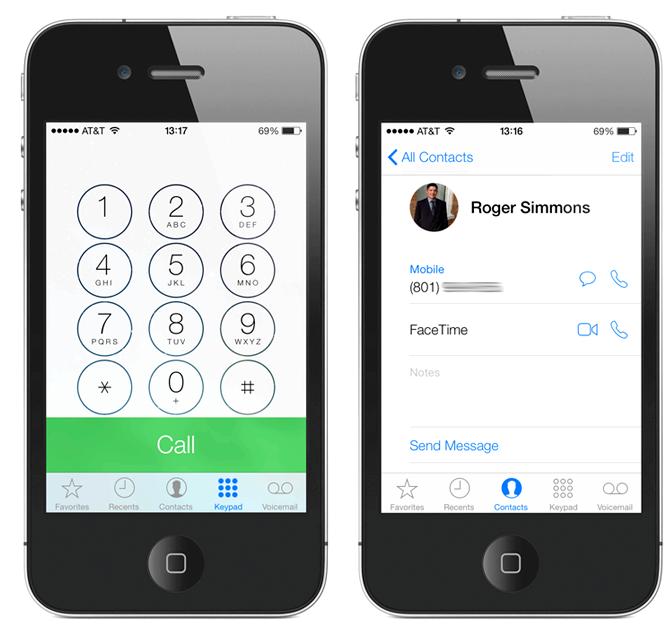 Как на айфоне сделать белый экран 673