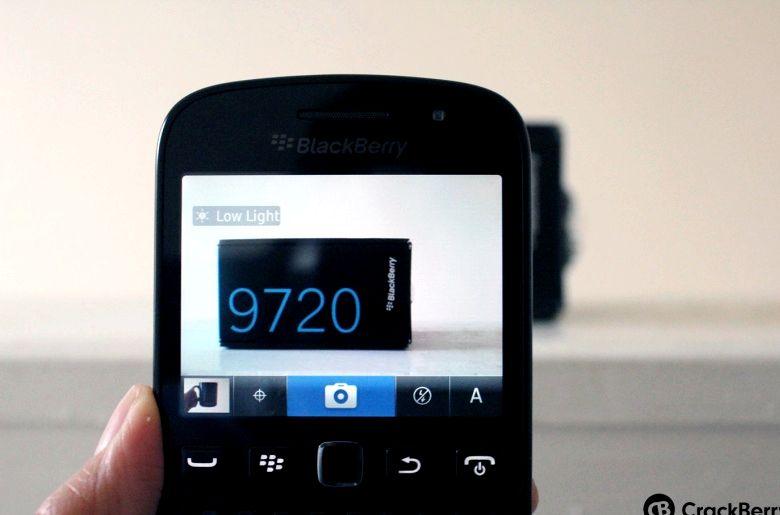Blackberry éteint lorsque vous utilisez l'appareil photo