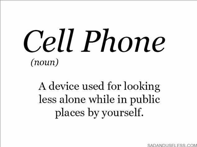 telefone celular que é a palavra