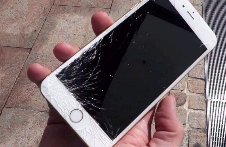 Agrietado la pantalla de mi iPhone 5 ¿Qué hago