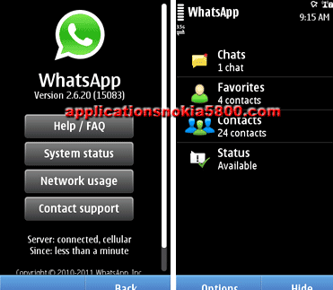 Download whats up nokia 5800