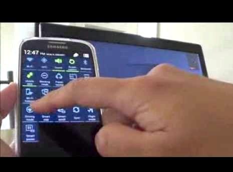 איך אני יכול להתחבר סמסונג גלקסי שלי S4 למחשב הנייד שלי
