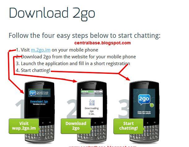 איך אני יכול להוריד 2go בטלפון הנייד שלי