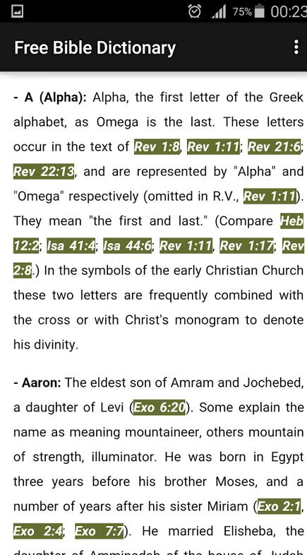 Nasıl benim telefonda İncil indirmek ve Sözlük olabilir