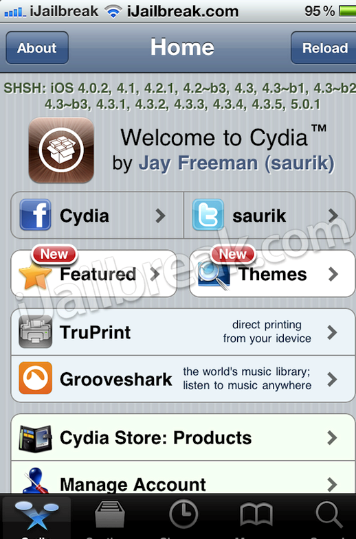 Como eu posso baixar o Cydia no meu iphone 5