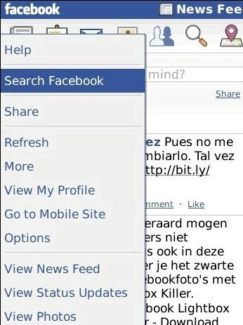 Jak mogę pobrać facebook na mój telefon blackberry