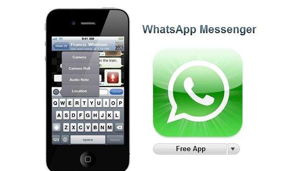 Miten voin ladata ilmaiseksi whatsapp iPhone 5