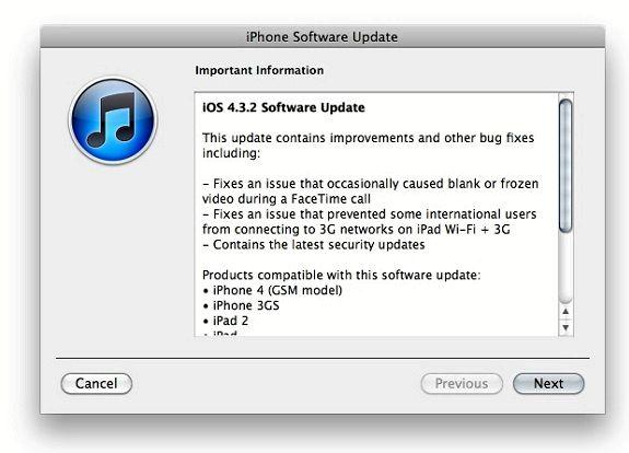 Como eu posso baixar iOS 4.3 no meu iPhone 3GS