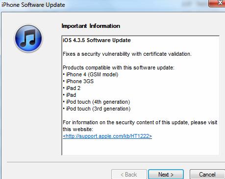 ¿Cómo puedo descargar iOS 4.3 en mi iphone 4