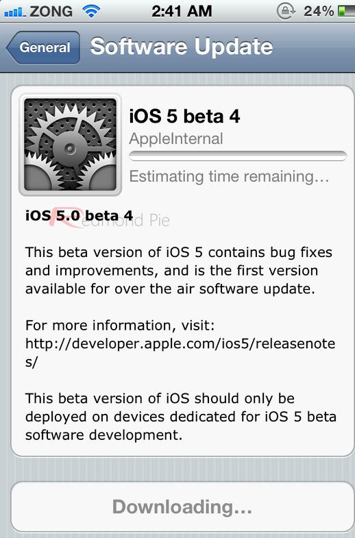 Hur kan jag ladda ner iOS5 på min ipad 1