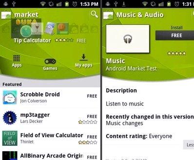 ¿Cómo puedo descargar mercado para Android