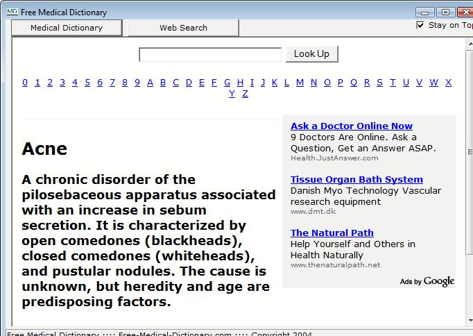 ¿Cómo puedo descargar diccionario médico en mi teléfono