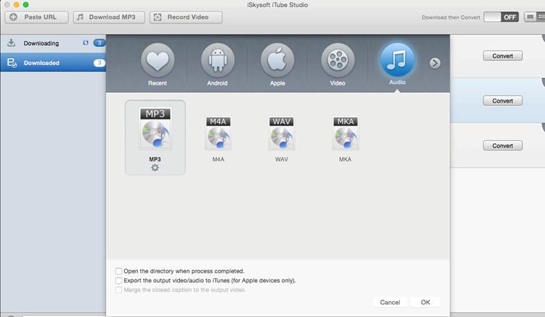 איך אני יכול להוריד מוסיקה מ- YouTube ישירות iPhone שלי