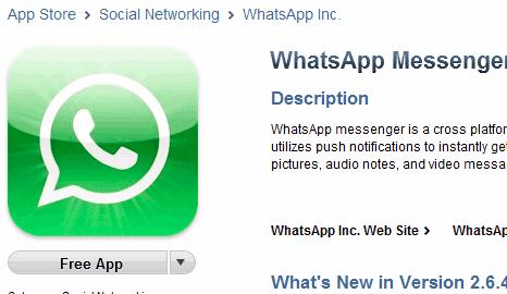 どのように私は無料のiPhone 5のためのWhatsAppダウンロードすることができます