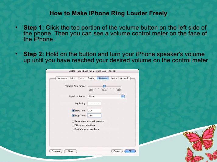 ben yüksek sesle benim iphone zil yapabilirsiniz nasıl