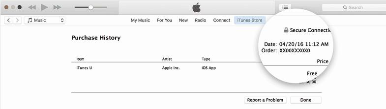איך אני יכול לראות את ההיסטוריה של הורדת אפליקציה iPhone שלי
