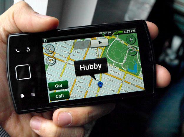 ¿Cómo puedo realizar un seguimiento de mi ubicación maridos teléfono