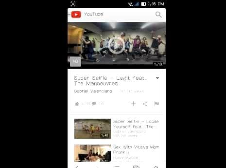 Nasıl benim cep telefonu youtube videoları izleyebilirsiniz