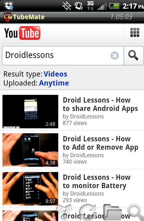 Eğer robot üzerinde youtube videoları indirebilirsiniz nasıl