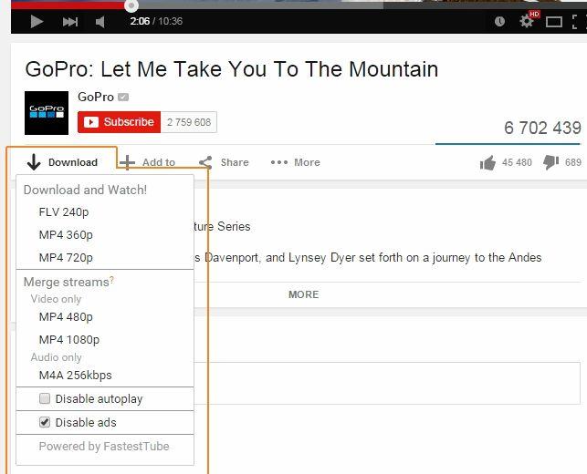 Comment pourrais-je télécharger la vidéo de youtube dans mon portable